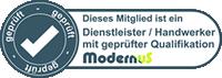 ModernuS Handwerker / Dienstleister mit geprüfter Qualifikation
